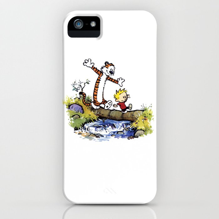 calvin and hobbes 03 [tw] iphone case