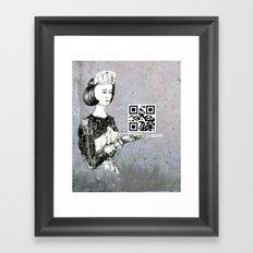 Service  Framed Art Print