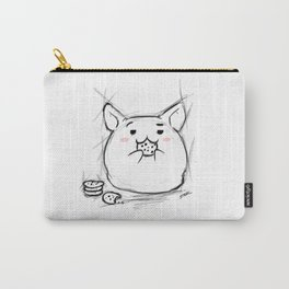 cookie eating Kawaii Carry-All Pouch