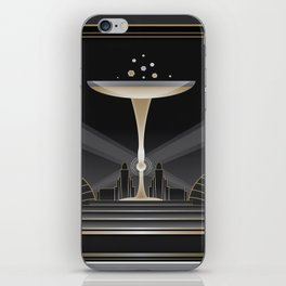 Art deco design VI iPhone Skin