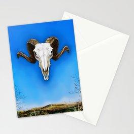 Dartmoor Sheep Skull Stationery Cards