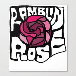 Ramblin Rose Canvas Print