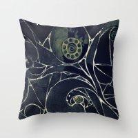 mosaic Throw Pillows featuring Mosaic  by KunstFabrik_StaticMovement Manu Jobst