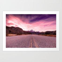Enter Patagonia Art Print