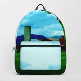 All At Once We Had It In For The Sky Backpack
