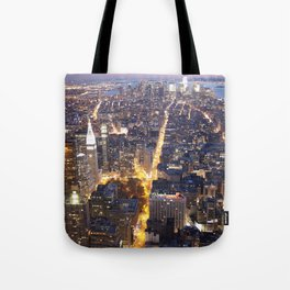 NYC FIRE Tote Bag