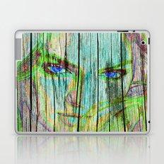 Woman on wood Laptop & iPad Skin