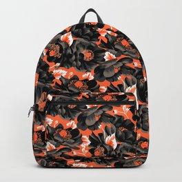 Mount Cook Lily - Orange/Black Backpack