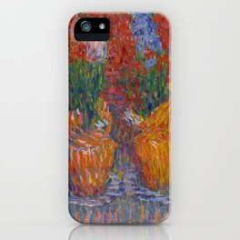 "Alexej von Jawlensky ""Hyacinth Pots (also known as Hyacinths in Orange)"" iPhone Case"
