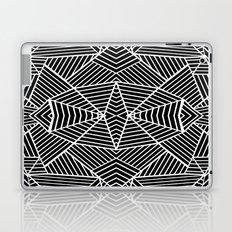 Ab Zoom Mirror Black Laptop & iPad Skin