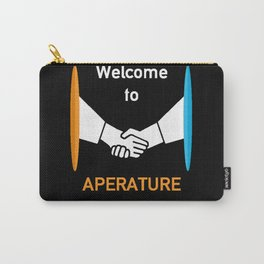 WELCOME TO APERATURE SCIENCE  Carry-All Pouch