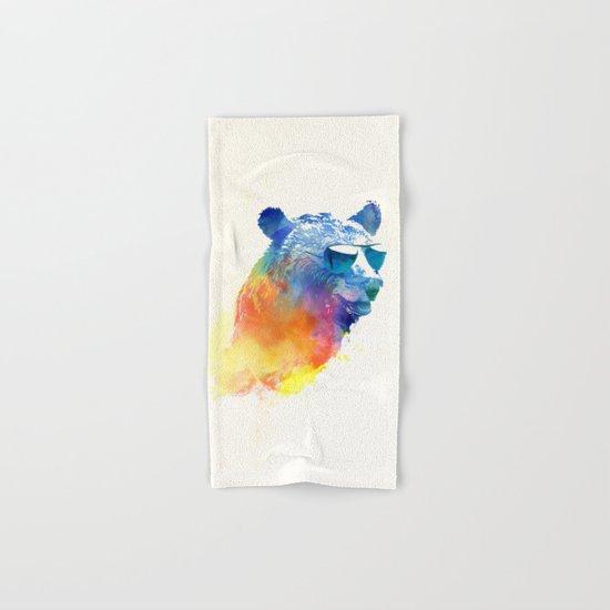 Sunny Bear Hand & Bath Towel