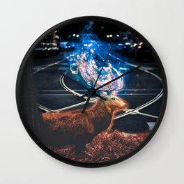 encroachment Wall Clock
