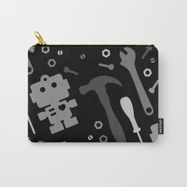 Techie Tools - black and grey Carry-All Pouch
