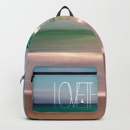 LOVE THE OCEAN II Backpack