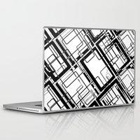 doors Laptop & iPad Skins featuring 1000 doors by Vivian Fortunato