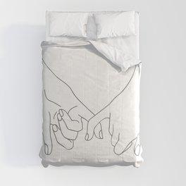 Pinky Promise Comforters