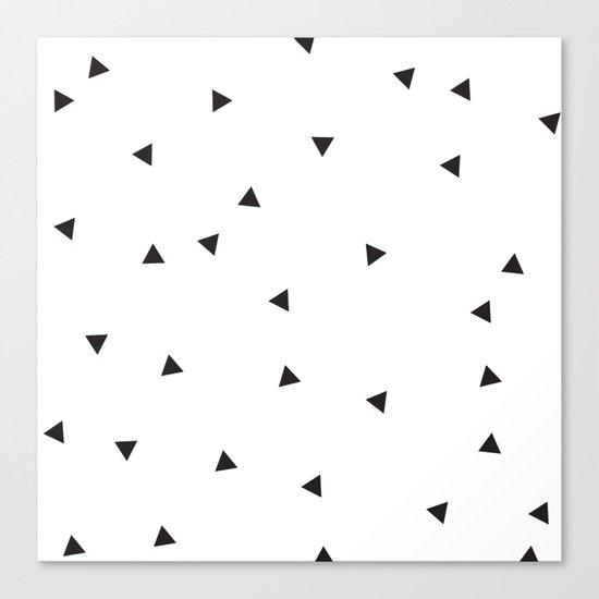 Mini triangles Canvas Print