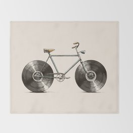 Velophone Throw Blanket