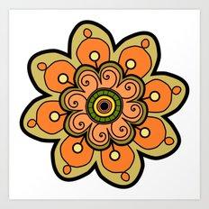 Flower 19 Art Print