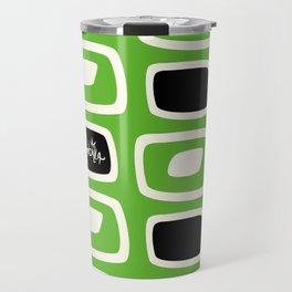 GreenBlack Bombilla Travel Mug