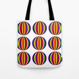 Gay balls Tote Bag