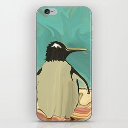 Penguins in Paradise iPhone Skin