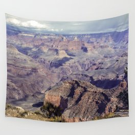 Grand Canyon Passing Storm Wall Tapestry