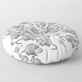 Year of the Rat - Metal Floor Pillow