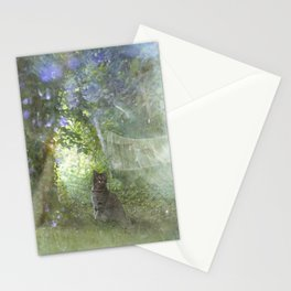 in Angel's Garden Stationery Cards