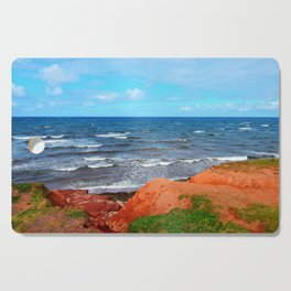 Rolling Waves in East Point PEI Cutting Board