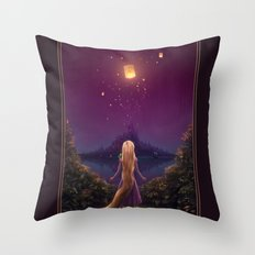 Tangled Throw Pillow