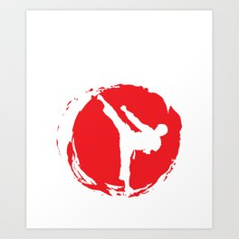 Judo - Judo Martial Art Design Art Print