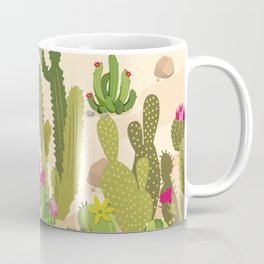 Cactus Variety Coffee Mug