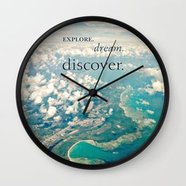 discover. Wall Clock