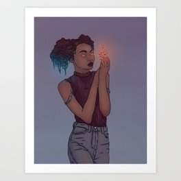 Draw this in your style #4 Art Print