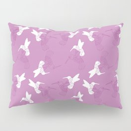 Humming Bird Pink Pillow Sham