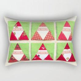 Santa Claus brothers Rectangular Pillow
