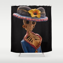 Day of the Dead (Catrina) Shower Curtain