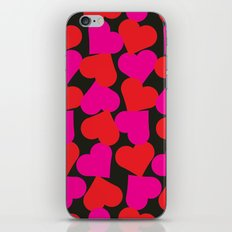 queen of hearts II iPhone & iPod Skin