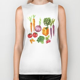 Eat Your Veggies Biker Tank