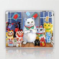 Lucky Cats Laptop & iPad Skin