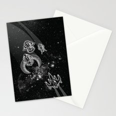 Intergalactic Pest Control Stationery Cards