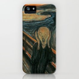 The Scream iPhone Case