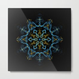 Consciousness Revolution Mandala Metal Print