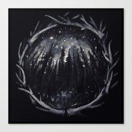 Scream Leash, Psychosis Canvas Print