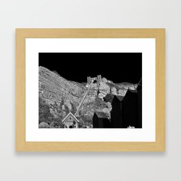 East Hill Cliff Railway Framed Art Print