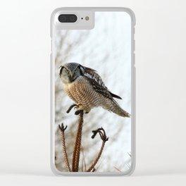 Focused Clear iPhone Case