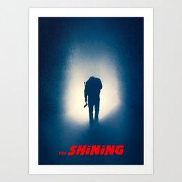 Shining Silhouette -Titled Version Art Print
