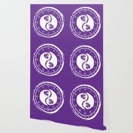 Taurus Yin Yang Second Zodiac Sign Wallpaper